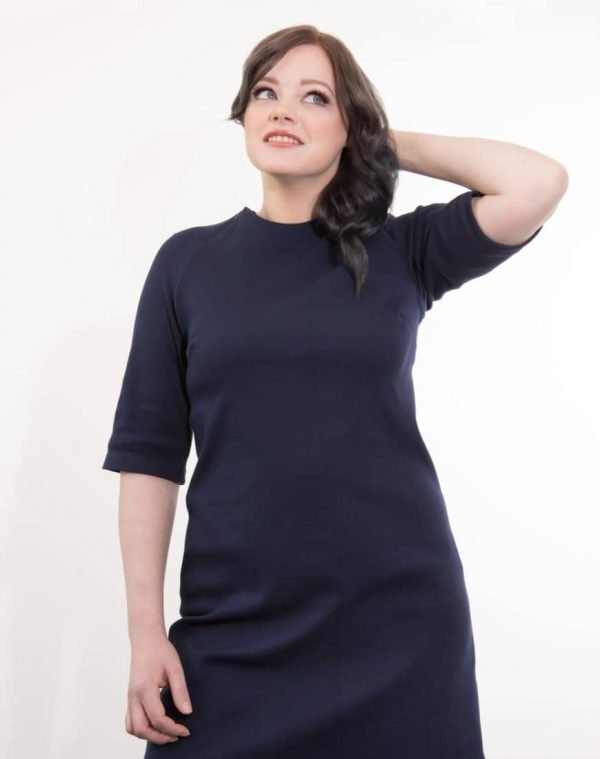 Our Imogen breastfeeding dress is effortlessly stylish and comfortable. With invisible zip access you would never know this was a breastfeeding dress.