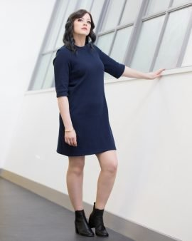 Our Imogen dress is effortlessly stylish and comfortable. Made in a luxury jersey, Imogen not only looks and feels great to wear but is also flattering on the body. Featuring our unique breastfeeding access design.