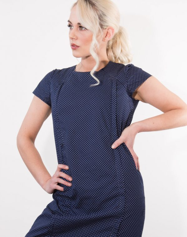 Our June in Pearl dress is a flattering shift style dress is a timeless and versatile look for so many occasions. Featuring our unique breastfeeding access design.