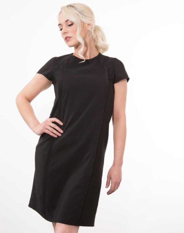 Our classic June dress is a flattering shift style dress, a timeless and versatile look for so many occasions. Featuring our unique breastfeeding access design.