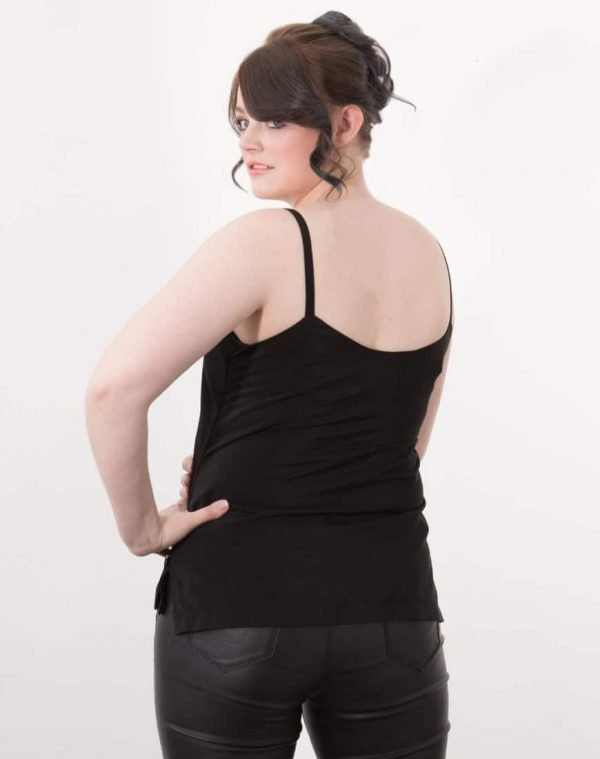 This classic cami style top is as flattering as it is versatile. Made in a beautifully soft, luxurious fabric, you would never know this is a breastfeeding top. Rosa is perfect for adding into your existing wardrobe, allowing you to freedom to breastfeed while still being able to enjoy your unique style.