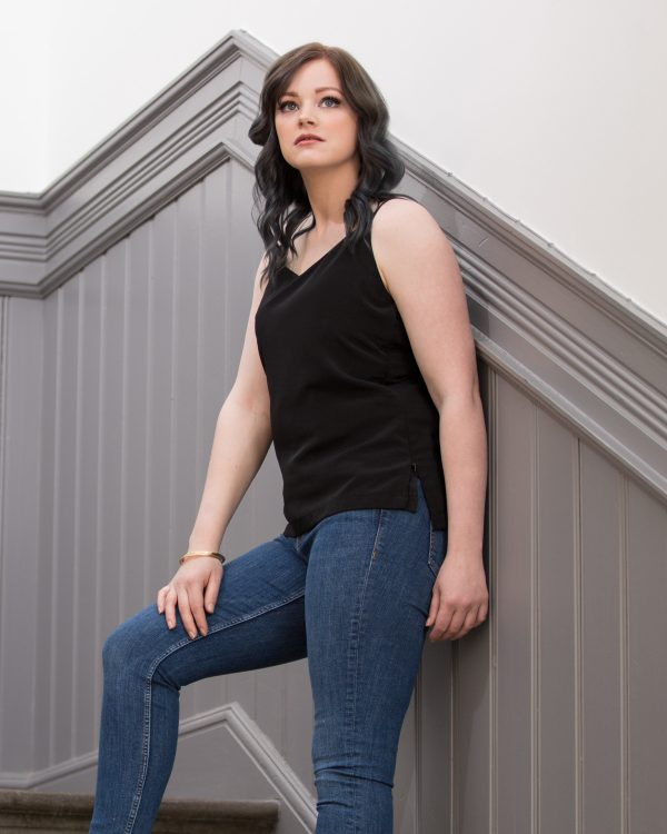 This classic cami style top is as flattering as it is versatile. Made in a beautifully soft, luxurious fabric, you would never know this is a breastfeeding top. Packed with hidden features. We combine invisible zip access at the sides with an extra layer of light fabric that hugs just under the bust.