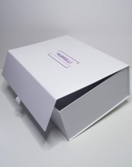 Whether you are buying for yourself or someone else, make your purchases even more special by having them arrive in one of our beautiful gift boxes. Our luxury gift boxes come with magnetic closures, ribbon ties and beautiful foil detailing making them the perfect presentation box for a gift.